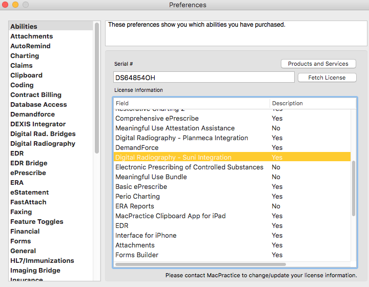 DR/Imaging - Suni Integration – MacPractice HelpDesk