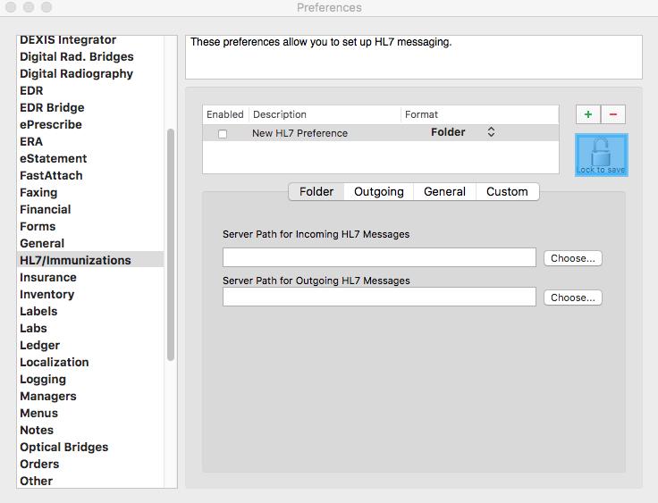 HL7 - File/Folder Scheme – MacPractice HelpDesk