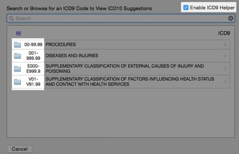 FAQ - Searching ICD-9 Instead of ICD-10 – MacPractice HelpDesk