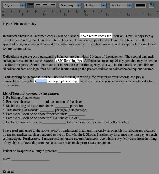 notes template basics macpractice helpdesk